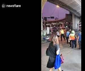 Thai authorities condemn volunteer health worker seen spraying passengers with 'disinfectant' [Video]
