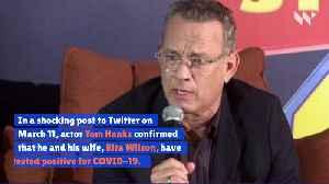 Tom Hanks and Rita Wilson Test Positive for COVID-19 [Video]