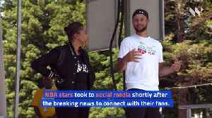 LeBron James, Steph Curry and Other NBA Stars React After NBA Season Suspended [Video]