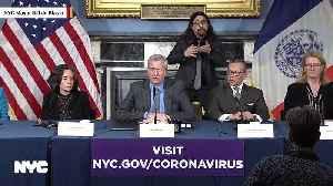 NYC Mayor Bill de Blasio On Coronavirus: 'The World Turned Upside Down' Within Hours [Video]