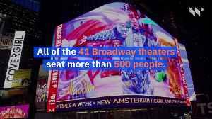 Broadway Goes Dark Due to Coronavirus [Video]