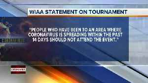 WIAA Girls State Basketball Tournament set to go on despite coronavirus outbreak [Video]