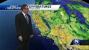 Continued temp drops with rain coming on the weekend [Video]