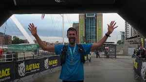 Dad-of-two runs 30 marathons in 30 days [Video]