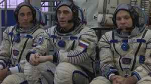 New ISS Crew Test Negative for Coronavirus, on Lockdown Until Launch [Video]