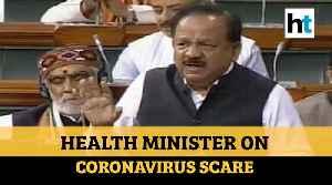 Health Minister On Coronavirus Scare [Video]