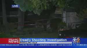 Woman Killed, Man In Critical Condition In Woodland Hills Shooting [Video]
