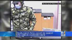 Newburyport Police Seek Man Who Robbed Bank While Wearing Medical Mask [Video]