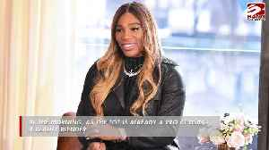 Serena Williams' daughter helps with her beauty routine [Video]