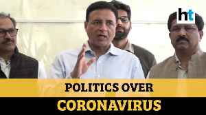 'Steps taken by Modi govt not enough to tackle coronavirus': Congress [Video]