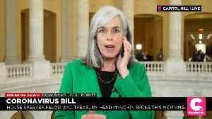 Dem Rep 'Very Discouraged' by GOP Rhetoric on Coronavirus Aid Package [Video]