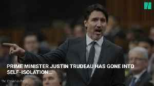Prime Minister Justin Trudeau Goes Into Self-Isolation Over COVID-19 [Video]