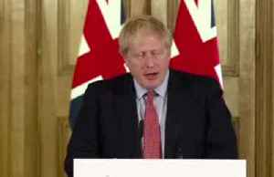 UK PM Johnson tells ill people to self-isolate [Video]