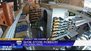 Local shoe store robbed [Video]