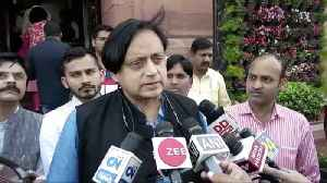 Shashi Tharoor questions reality of India coronavirus situation [Video]