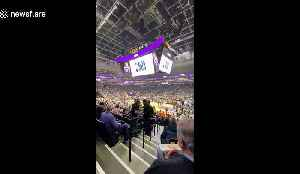 Fans erupt in boos as Kings and Peclicans game postponed amid growing coronavirus concerns [Video]