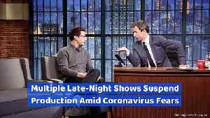 Multiple Late-Night Shows Suspend Production Amid Coronavirus Fears [Video]