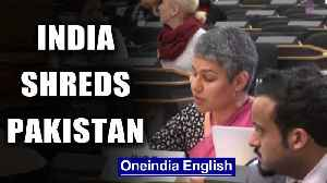 India demolishes Pakistan as it attempts to rake up Kashmir at UNHRC| Oneindia News [Video]