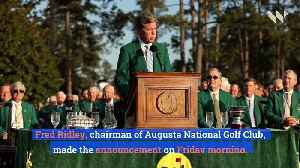The Masters Postponed and Other PGA Tour Events Canceled Due to Coronavirus [Video]