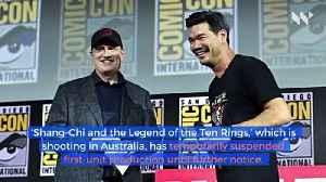 Marvel's 'Shang-Chi' Halts Production Over Coronavirus Concerns [Video]