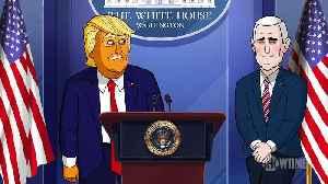 Our Cartoon President 3x08 Cold Open - Clip - Cartoon Trump Responds to Coronavirus Pandemic [Video]