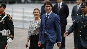 Canadian PM Justin Trudeau's Wife Tests Positive For Coronavirus [Video]