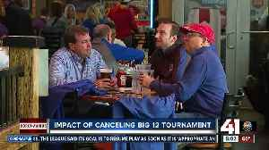 How Big 12 Tournament shutdown affects business in Power and Light [Video]