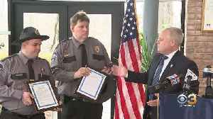 Bensalem Police Honor 2 Neshaminy Mall Officers For Saving 79-Year-Old Woman [Video]