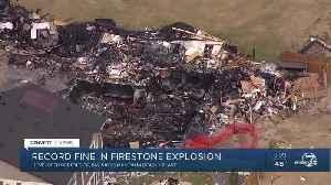 Colorado oil and gas regulators notify Kerr McGee of $18.25 million fine for Firestone explosion [Video]