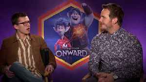 Tom Holland and Chris Pratt both 'class clowns' at school [Video]