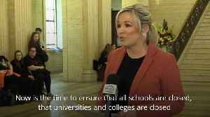 Michelle O'Neill calls for Northern Ireland schools to close over coronavirus [Video]