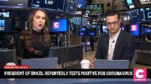 News video: Breaking News: President of Brazil Reportedly Tests Positive For Coronavirus