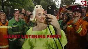 Katy Perry flees Australia after 'coronavirus scare' [Video]
