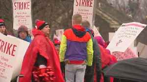 School Officials Comment On End Of Teacher Strike [Video]