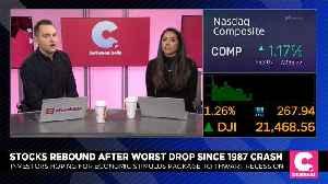 Stocks Rebound After Worst Drop Since 1987 [Video]