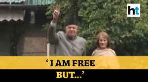 'I am free but...': Farooq Abdullah released from detention after 7 months [Video]