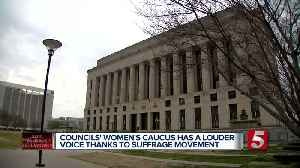 Metro Council's Women's Caucus honors anniversary of 19th Amendment [Video]