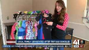 Family planning Disney trip forced to cancel at the last minute [Video]