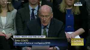 Director of National Intelligence warned Congress last year about danger of large-scale outbreak [Video]