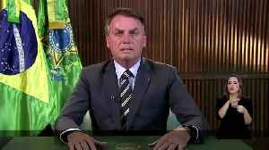 Bolsonaro tests negative for coronavirus [Video]