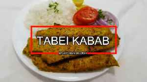 Chicken Tabei Kabab Recipe | Easy way to make Kabab | Iranian Dishes [Video]