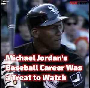 Michael Jordan's Baseball Career Was a Treat to Watch [Video]
