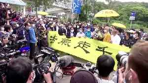 Hong Kong 'Umbrella' movement leader freed from prison [Video]