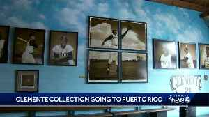 Roberto Clemente Museum collection going from Pittsburgh to Puerto Rico [Video]