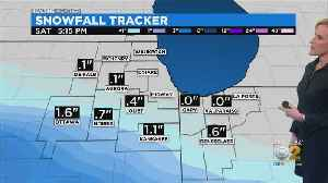 Real Time Weather: A Bit Of Snow? [Video]