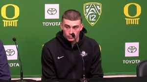 Web Extra: Dana Altman and Payton Pritchard on how coronavirus has affected their season (3/13/20) [Video]