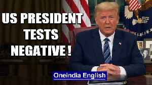 US President Donald Trump tests negative for Coronavirus, no. of cases in US cross 2800|Oneindia [Video]