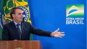 Brazilian President Jair Bolsonaro Said He Tested Negative For The Coronavirus [Video]