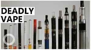 Researchers blame toxic additive for vaping related lung injuries [Video]