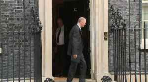Government advisers depart Downing Street [Video]
